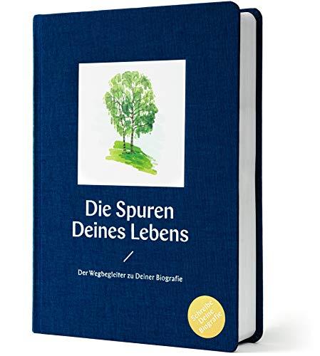Die Spuren Deines Lebens/Schreibe Deine Biografie | DIY Biographie | Wegbegleiter Tagebuch | Selbstreflexion & Qualitätszeit Buch | strukturierter Guide zur eigenen Biographie