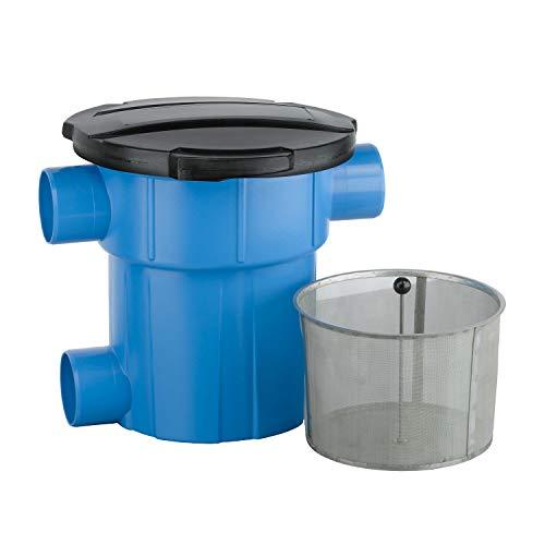 Regenwasserfilter extern Ret.- und Versickerungsfilter mit Deckel