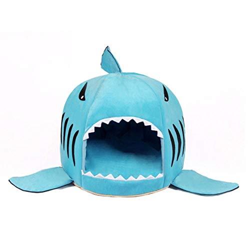 Unieke haai mondvormige hondenhok warm pluche hondenmand waterdicht hondenkennel kennel warme kattenpup