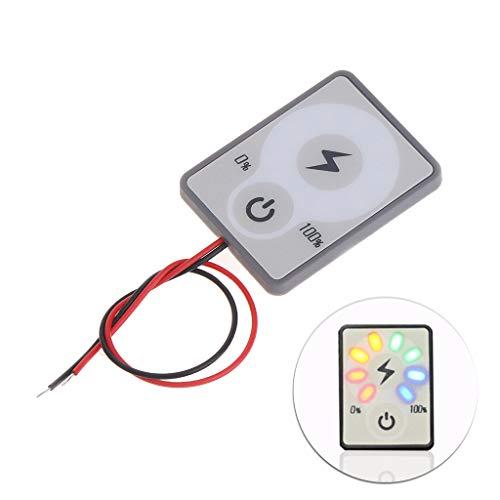 siwetg 12 V 24 V LCD Auto Säure Blei Lithium Batterie Kapazitätsanzeige Tester Power Meter