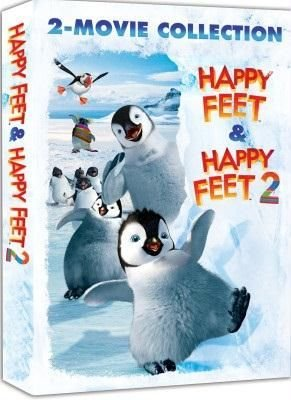 DVD - Happy Feet 1 & 2 (1 DVD)