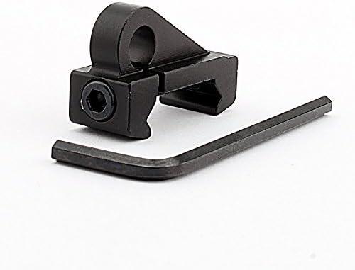 Innovatieve QD Sling Swivel Button Operatie Swing Swivel Kwaliteit Materiaal Snel loskoppelen Sling aluminium gemaakt zwart