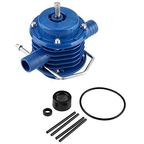 Handboormachine pomp, mini zelfaanzuigende elektrische kunststof boormachine waterpomp voor huishouden tuin pompen waterpomp handboormachine waterpomp
