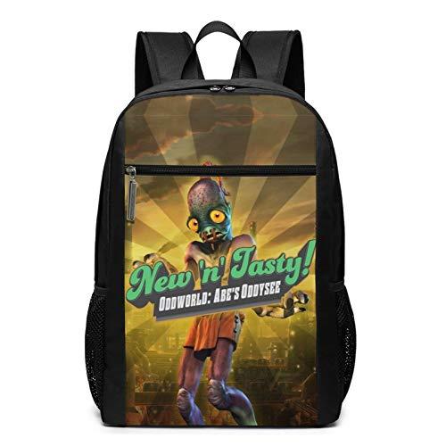 Munch's Oddysee New n Tasty! pop videojuego Mudokons Vykkers extraño mundo computadora mochila artículos cómodos Adolescente, Niños, Niñas, Estudiante Ciclismo Senderismo, Estudio