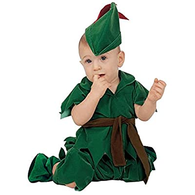 Baby Boy Infant Peter Pan Costume (24 Months) Green