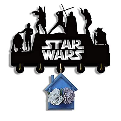 Star Wars Key Hooks, Key Hanger, Wall Key Rack,...