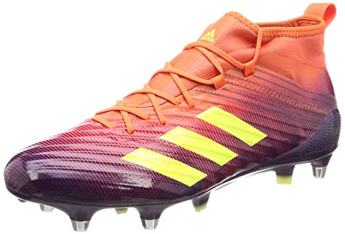 Adidas Predator Flare SG, Zapatillas de Rugby para Hombre, Multicolor (Multicolor 000), 48 2/3 EU