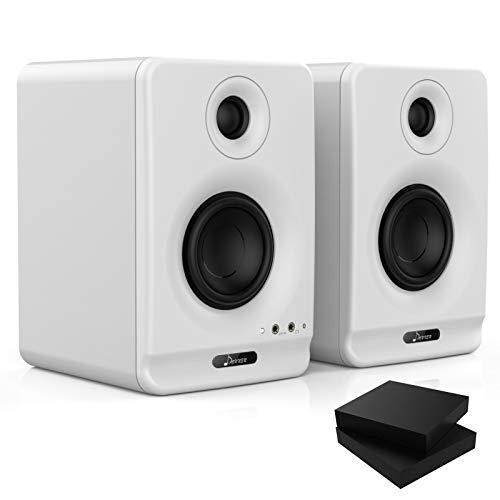 Donner Dyna 3 High Definition Bluetooth 5.0 Active Studio Monitor, Weiß