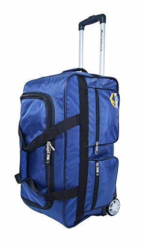 """Outdoor Gear-Borsone Trolley bagaglio 60,96 cm (24"""") Borsa da viaggio """", misura media Nero blu 61 cm"""