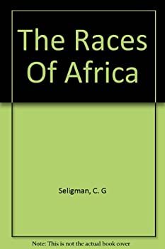 Hardcover Races of Africa (The home university library of modern knowledge) Book