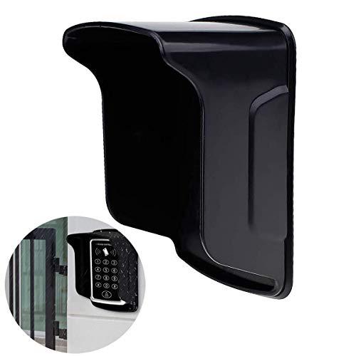 CIFY Cubierta de Lluvia para Controlador de Teclado RFID/videoportero/máquina de Huellas Dactilares, Cubierta Protectora de Equipo de Control de Acceso Impermeable