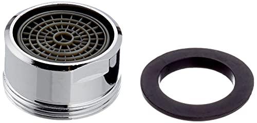 Aireador perlizador atomizador para lavabo de baño o fregadero de cocina. Rosca macho para colocar en la salida del grifo. Recambios originales garantizados