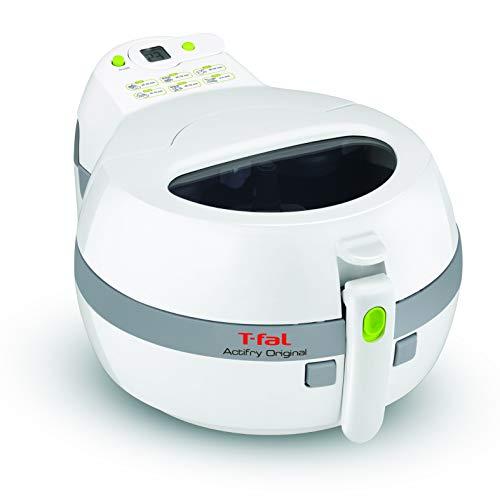 Tefal ActiFry FZ7100 Heißluftfritteuse (1400 Watt, 1 Kilo Fassungsvermögen) weiß/grau
