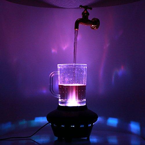 ZZH - Lámpara de Grifo portátil mágica con Grifo suspendido, lámpara de Cristal mágico Decorativa, Adornos para Colgar, 220 V, práctico