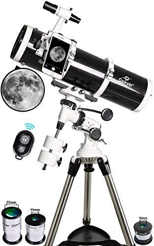 Gskyer Telescope, 130Eq Telescopio Reflector astronómico Profesional, Alcance de la tecnología Alemana