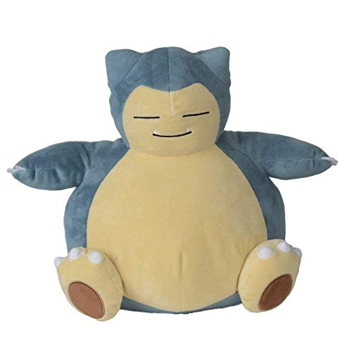 Lively Moments Pokemon Plüschtier / großes Kuscheltier / Plüschfigur Relaxo / Snorlax ca. 28 cm