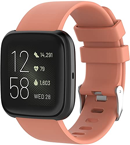 Gransho Correa de Reloj Reemplazo Compatible con Fitbit Versa 2 / Versa 2 SE/Versa Lite/Versa smartwatch, la Correa de Reloj Watch Band Accessorios (Pattern 3)