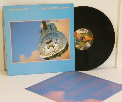 DIRE STRAITS, brothers in arms. Top copy. UK. 1985. Handwritten matrix A1, B6. Record label: Vertigo