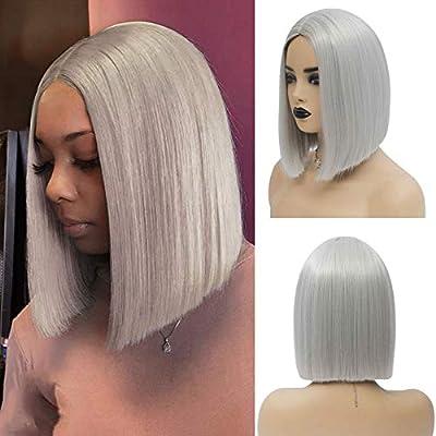 Tereshar Bob Wig for Fashion Women Short Straight Wig(12 Inch)