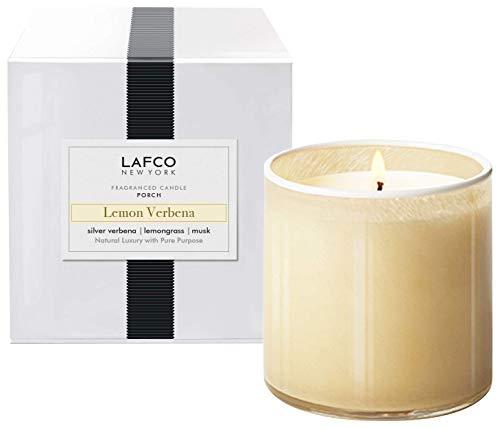 LAFCO New York Signature Scented Candle (Lemon Verbena, Porch - 15.5 oz)