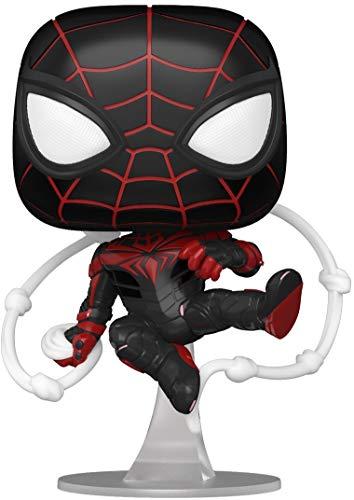 Funko 54693 POP Games: Spider-Man: Miles Morales- Miles (Advanced Tech Suit)