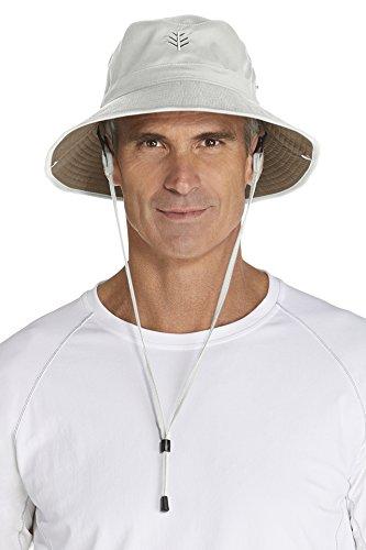 Coolibar Herren UV-Schutz Hut, grau, OneSize