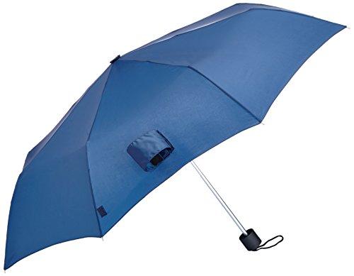 Wenger Regenschirm Manueller Taschenschirm (Blau) W1202