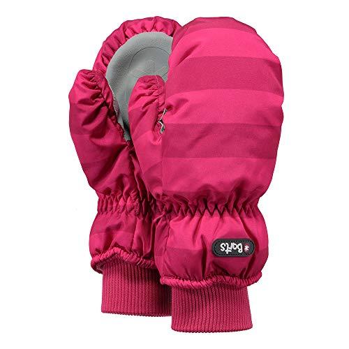Barts Kinder Handschuhe Nylon Mitts Fuchsia Stripe (pink gestreift), Größe:1