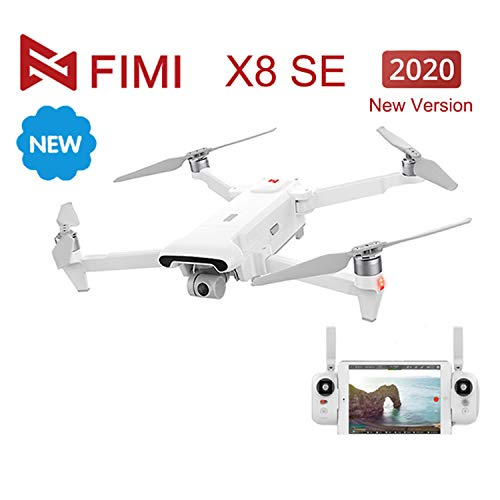 FIMI X8 SE 2020 Camera Drone 8KM FPV 3-axis Gimbal HD4K Camera GPS 35 mins Flight Time RC Quadcopter RTF
