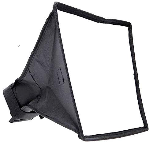 [SCGEHA]ソフトボックスディフューザーカメラ折りたたみ式ストロボケース付き20cm×30cm