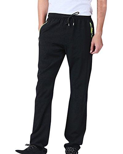 Homme/Femme Pantalon Softshell Léger Imperméable Respirant Quick Dry Randonnée Mountain Pantalon Noir S