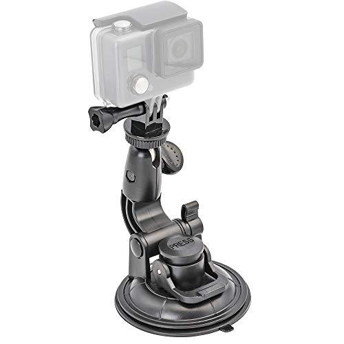 EXSHOW Zuignap Camera Mount voor GoPro Hero 7 6 5 4 3+ 3 2 1 Camera's en andere Camcorder, Zuignap Perfect voor Voorruit, Venster Voorruit en een glad oppervlak