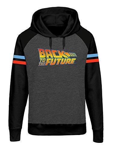 Back To The Future Logo Raglan -...