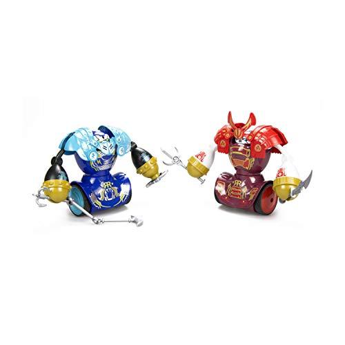 Silverlit Set di Due Robot Robo Combat Samurai Twin Pack S88056+ 2 Controller