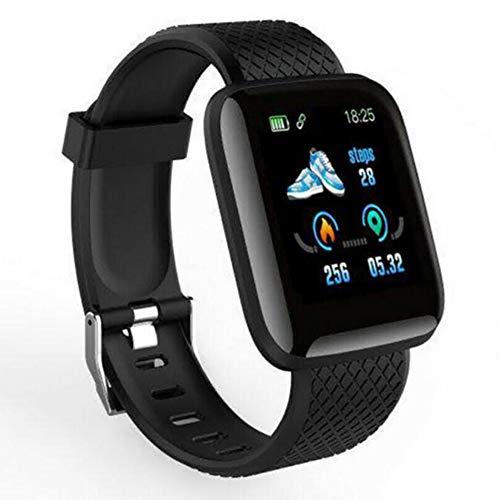 RAIKE Orologio Fitness Tracker Uomo Donna, Saturimetro Misuratore Pressione Cardiofrequenzimetro,calorie,Impermeabile IP67 Contapassi Touchscreen Smartwatch, per Android iOS