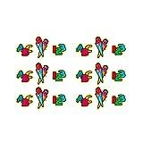 Oblique Unique® ABC Zuckertüte 123 Konfetti Zahlen Buchstaben Tisch Dekoration Streu Deko Schuleinführung Einschulung Schulanfang Schule