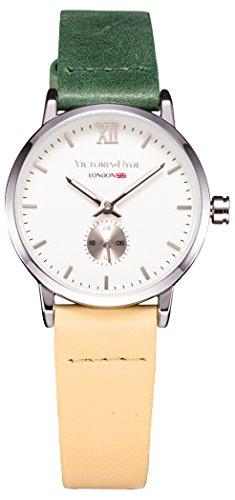VH Londres Mujeres Reloj de Cuarzo Impermeable...