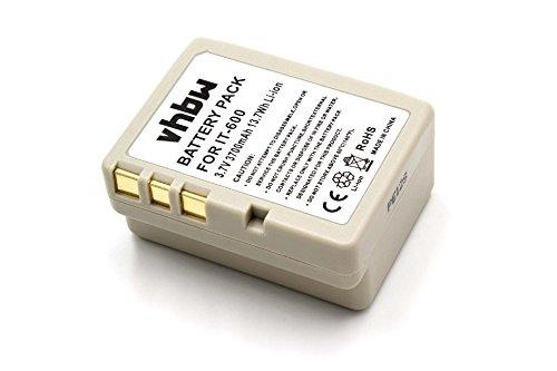 vhbw Li-Ion Akku 3700mAh (3.7V) für Barcode Scanner, Daten Terminal Casio IT-600, IT600 wie HA-D21LBAT.