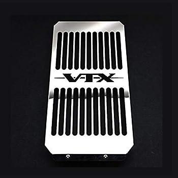 Radiator Cover Grill Grille Shrouds Cooler Protector For Honda VTX 1800 C/R/S/T VTX1800F/N Chrome