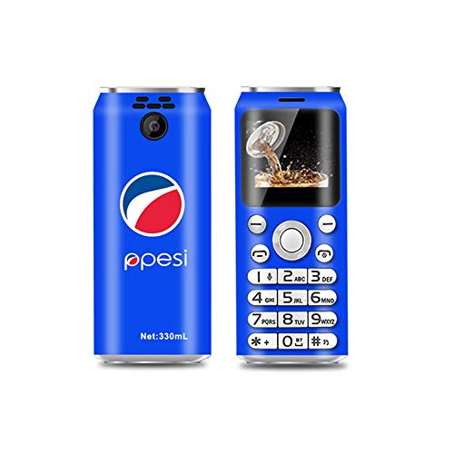 "YUHUANG Mini Phone, Super-Mini-Knopf-Telefon Dual-Karte Bluetooth Kamera Dialer 1.0 ""Handy MP3-Mini Phone,3"