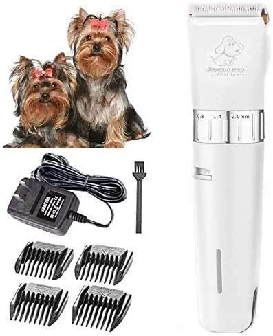 Cortadora de cabello fácil Clippers perro, mascotas Hair Clippers Peluquería Canina Clippers...