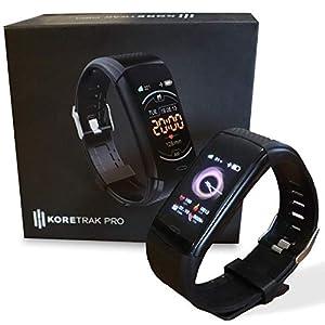KoreHealth KoreTrak Pro Fitness Tracker – Activity & Fitness Trackers l Heart Rate Monitor & Step Counter for Walking l…