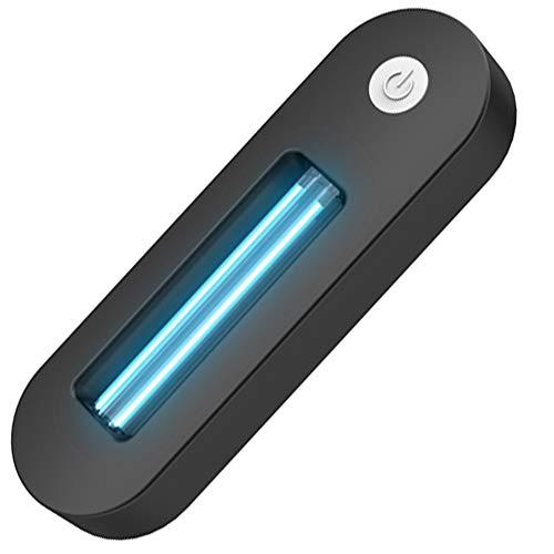 LISRUI Esterilizador Ultravioleta,Luz WC Sensor Movimiento,WC Luz Nocturna Led,DeteccióN AutomáTica,Carga USB,FáCil de Instalar,DesinfeccióN de Inodoros,Tiempo por Debajo de 2 Horas,para El BañO