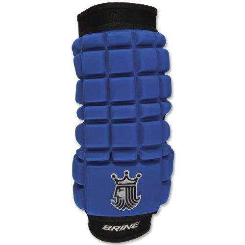Brine LoPro Superlight Lacrosse Arm Pad (Large, Royal)
