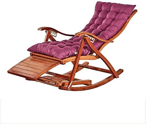 TCYLZ Cero Gravedad Silla Silla reclinable Tumbona Plegable con el pie Bolas de Masaje Descanso for Comer Silla de salón (Color : B2)