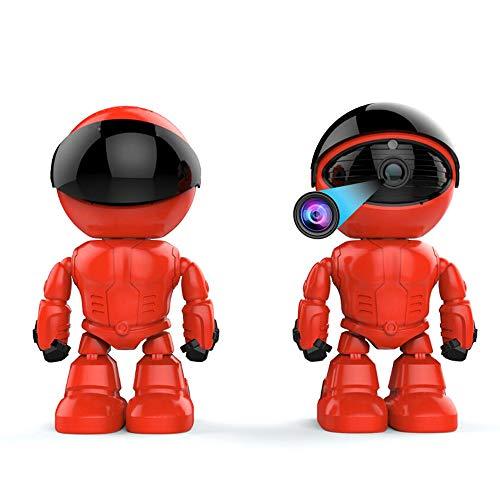 Camara Espia Mini Camara Mini Smart Robot IP Cámara 960 P HD WiFi IP De Dos Vías De Grabación De Voz De Alarma De Visión Nocturna Home Care Monitor De Bebé para Android iOS CAM