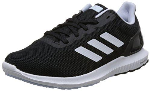 Adidas Cosmic 2, Zapatillas de Entrenamiento Mujer, Negro (Core Black/Footwear White/Aero Blue 0), 41 1/3 EU