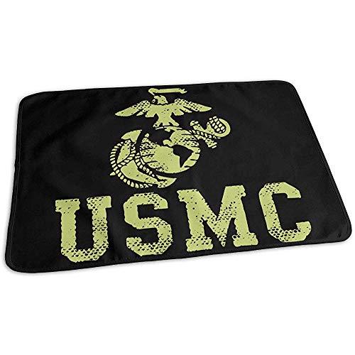Changing Pad,United States Marine Corps Usmc Imperméable Matelas À Langer Pour Lit De Voyage À Domicile 50cmx70cm