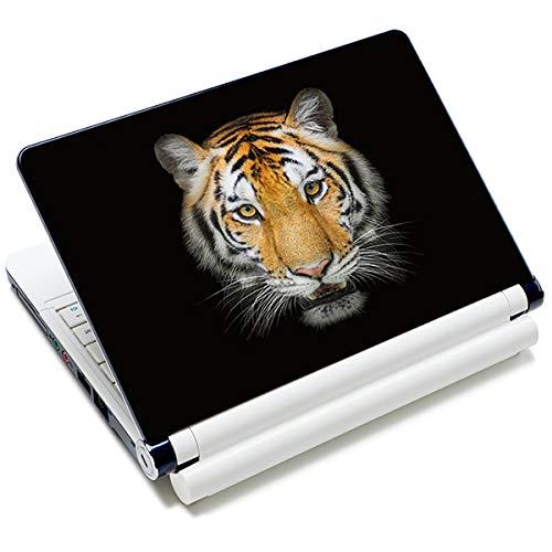 Laptop-Aufkleber, Aufkleber, wiederverwendbar, für Toshiba HP Samsung Dell Apple Acer Leonovo Sony Asus Laptop Notebook (Tiger)