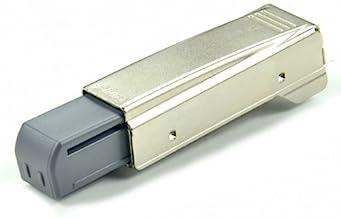Blum 973A0500.01x5 973A Blumotion rechte arm volledige overlay scharnier voor deuren, nikkel afwerking (Pack van 5)